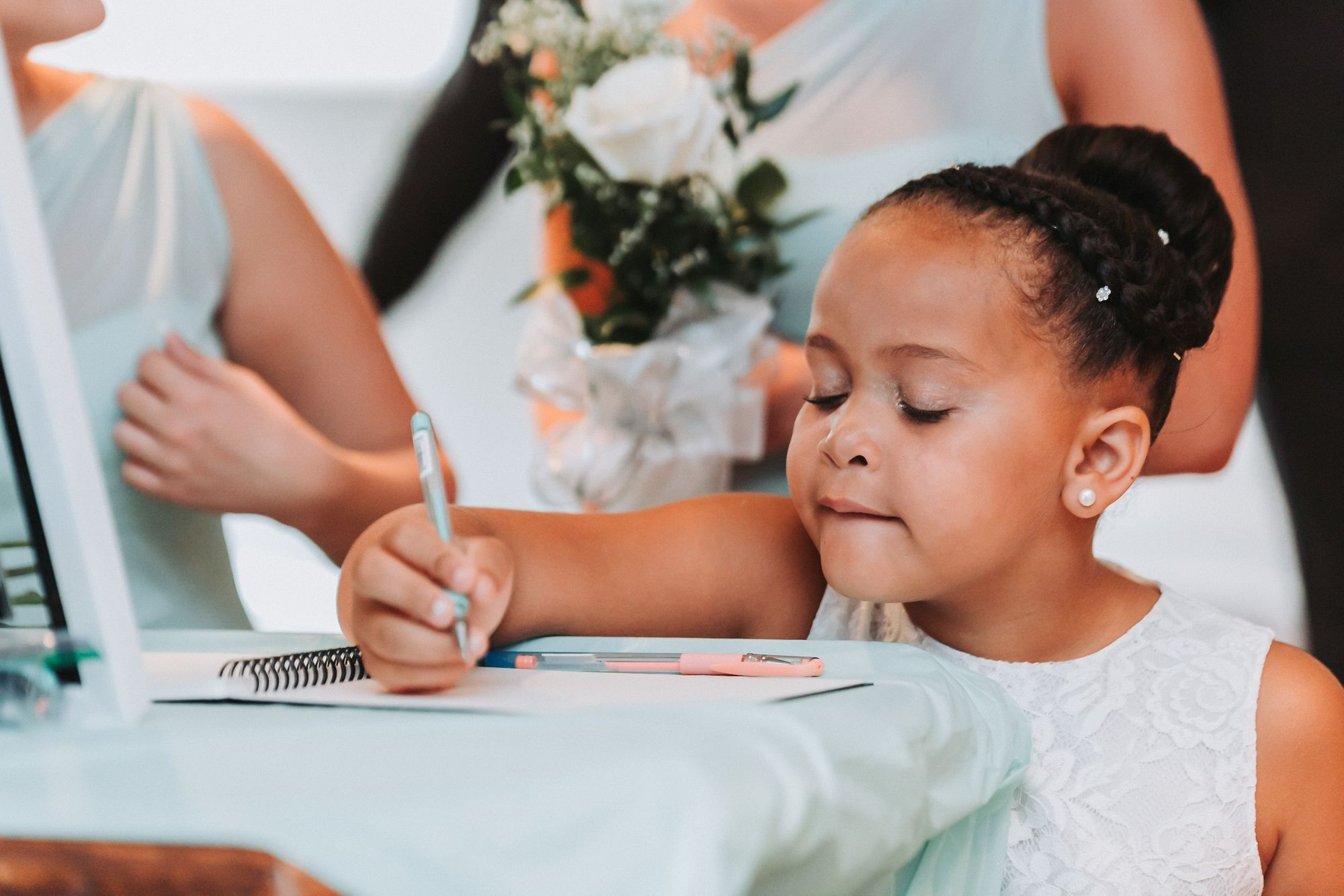 Dominique Richardson Wedding Photographer Child Guestbook